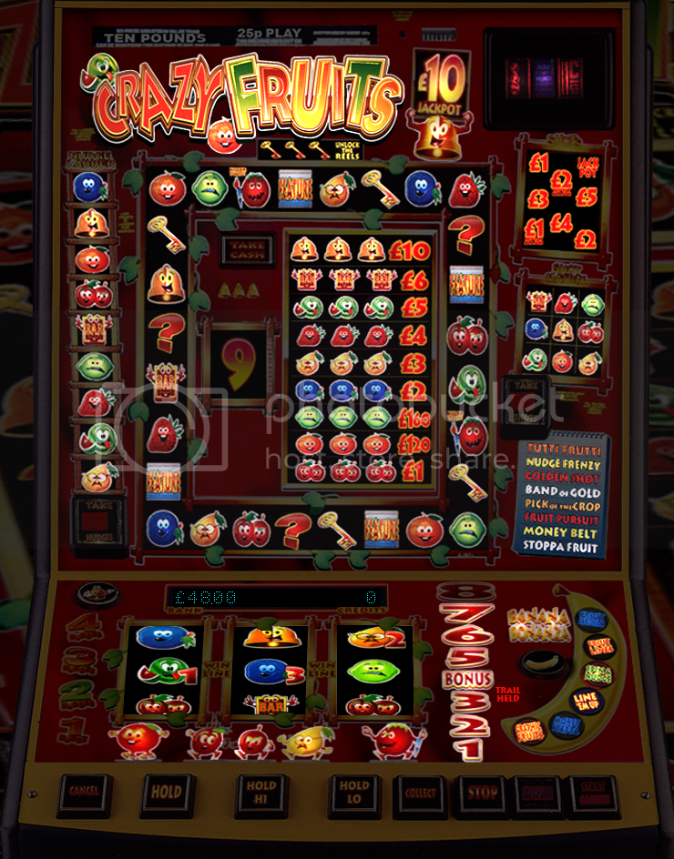 reel crazy fruit machine emulator